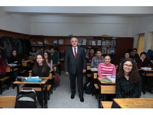Vali Tuna'dan Fatih Fen Lisesi Öğrencilerine Ders;