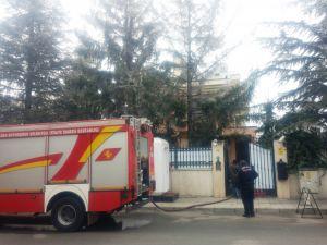 Angola Cumhuriyeti Büyükelçiliği'nde yangın paniği