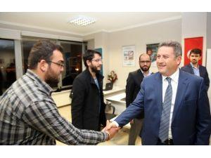 Başkan Palancıoğlu'dan Tügva'ya Ziyaret