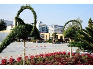 Büyük Otel'in Yeri Park Oldu