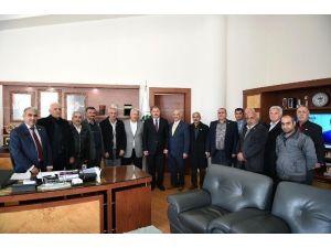 Kayısı Kent Muhtarlar Derneği'nden, Başkan Çakır'a Ziyaret