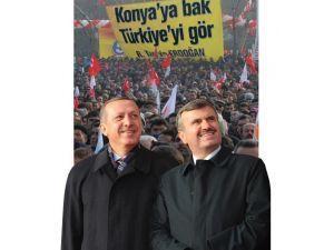 Konya, Cumhurbaşkanı Erdoğan İle Buluşuyor