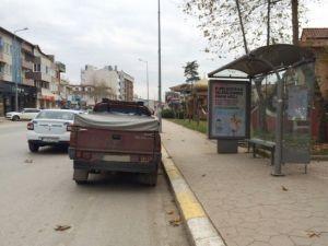 Durağa Park Edilen Araçlar İçin Uyarı