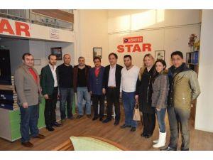 AK Parti İlçe Teşkilatı Yerel Gazeteleri Ziyaret Etti