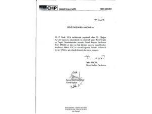 CHP'de kurultay için görevlendirilme yapıldı
