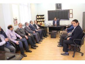 Vali Güner'den Türk-iş İl Temsilciğine Ziyaret
