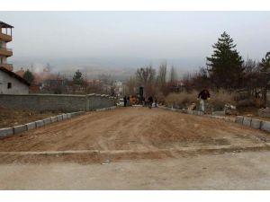 Sungurlu Belediyesi Kışa Rağmen Çalışıyor