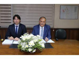 Mezitli atıksu arıtma tesisi ihale sözleşmesi imzalandı