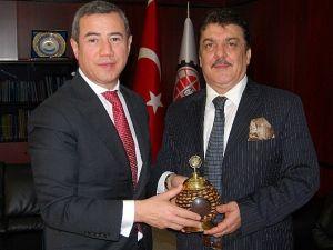 Irak Başkonsolosu Koperly, Bartık'ı Ziyaret Etti