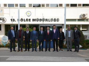 Adgiad'dan DSİ Bölge Müdürü Özgür'e Ziyaret
