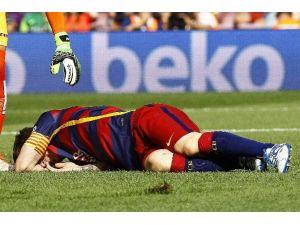 Barcelona'da Messı Şoku