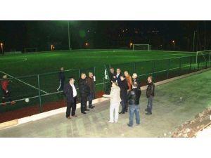 Milletvekili Tunç, Amasra Stadı Tribün İnşaatını İnceledi