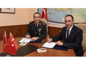 Harita Genel Komutanlığı İle Fırat Üniversitesi Arasında İşbirliği Protokolü İmzalandı