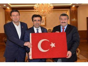 Kelkit Belediye Başkanı Yılmaz'dan Vali Güzeloğülu'na Ziyaret