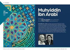 Kültür Sanat Etkinlikleri 'Muhyiddin İbn Arabî' Paneli İle Devam Edecek