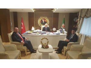 Cihan Saraç, TZOB Genel Başkanı İle Görüştü