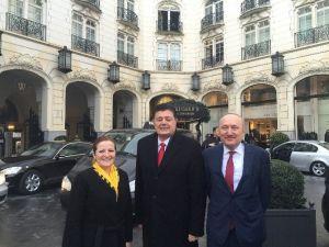 CHP'li Basmacı Brüksel'e Gitti