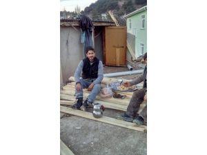 İnşaatın Çatısından Düşen İşçi Yaralandı
