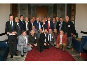 Devrekli Muhtarlardan Milletvekillerine Hayırlı Olsun Ziyareti