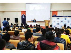 Vali Deniz, Üniversite Öğrencileriyle Buluştu