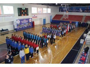 Düzce'de Analig Basketbol Grup Müsabakaları Başladı
