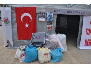 Bayırbucak Türkmenleri Antalya'dan Giden Battaniyelerle Isınacak