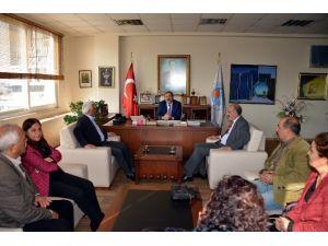 Vartolulardan Eş Başkanlara Ziyareti