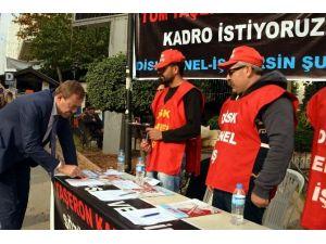 """Türk: """"Kamudaki Tüm Taşeron İşçiler Kadroya Alınmalı"""""""