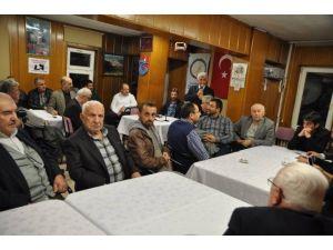 Karadenizliler Hamsi Gecesinde Coştu