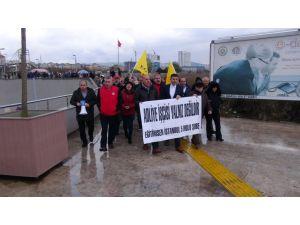 Anadolu Adalet Sarayı'nda eylem sürüyor
