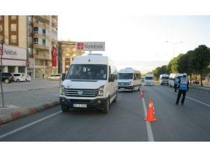 Trafik Zabıtasından Okul Servislerine Denetim