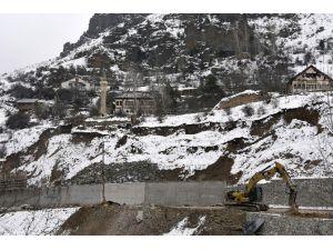 Tarihi Süleymaniye Mahallesi'nde Tehlike Yok