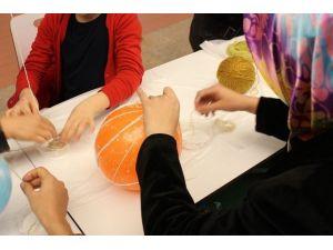Forum Gaziantep Kadınlar Kulübü Geri Dönüşüm'le Dekoratif Objeler Yaptı