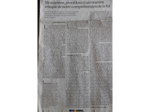 Fethullah Gülen, Le Monde'a yazdı: Müslümanlar radikalizmle mücadele etmeli