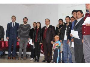 Çarşamba'da 110 Kursiyer Sertifika Aldı
