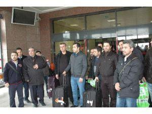 Merinos Rusya Tesislerinde Çalışan 15 Türk Ailelerine Kavuştu