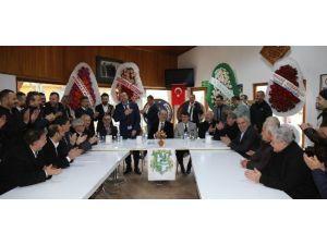 Başkan Altepe'den Pınarbaşıspor'a Destek