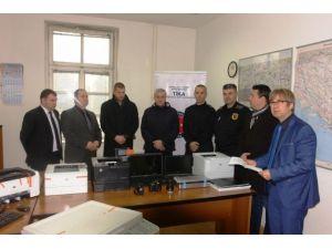 Bosna Hersek Emniyet Teşkilatı'na Bilgisayar Ve Donanım Desteği