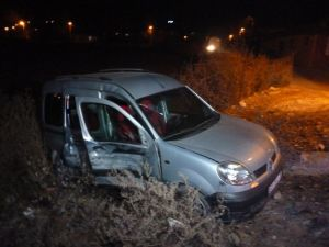Turhal'da Trafik Kazası: 1 Yaralı