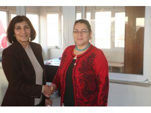 CHP Elazığ Kadın Kolları Başkanlığı'na Nuray Şenocak seçildi