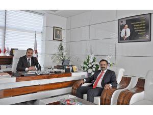 Yazıkonak Belediye Başkanı'ndan ETSO'ya iade-i ziyaret
