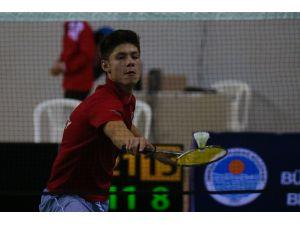 Badmintonda olimpiyat eleme heyecanı Mersin'de başladı