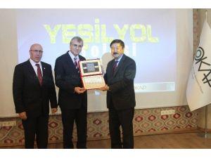 Yeşil Yol Projesi'ne Ödül
