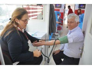 Yatağan'da Sanayi Esnaflarından Kan Bağışı