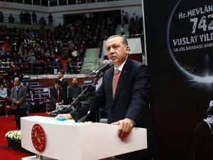 Cumhurbaşkanı Erdoğan: Vicdan terazimizi kaybetmeyeceğiz
