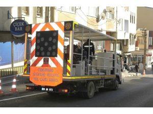 Malkara'da Yol Şeritleri Yeniledi