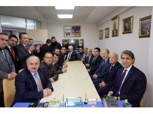 Başkan Mustafa Demir'den İstanbul Berberler Odası'na Ziyaret