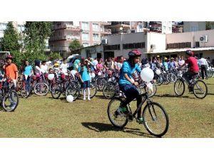 Aydın'da 34 Okula 730 Bisiklet Teslim Edildi