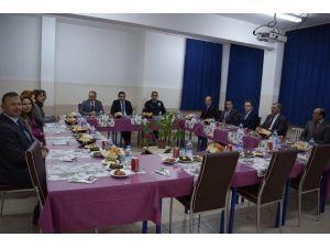 Pazarlar İlçe İdare Şube Başkanları Toplantısı Yapıldı
