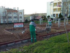 İzmit'e Yeni Parklar Yapılıyor